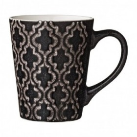 Abella mug black 35 cl..