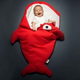 Shark shaped sleepingbag...