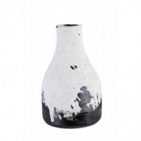 Kara vase white 15,5 cm.