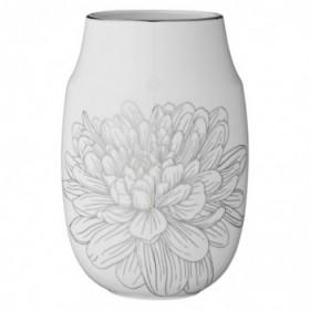 Evy vase white 19,5 cm.