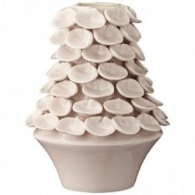 Stina vase silver peony 17 cm.