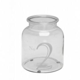 Malina lantern white 19 cm.
