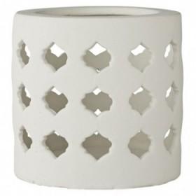 Meliora lantern white 14 cm.