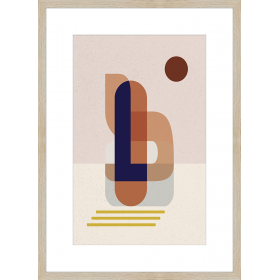Abstract geometries print