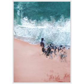 Seaside view print