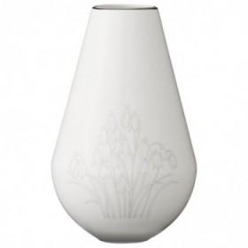 Sasefine vase white 15,5 cm.