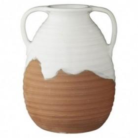 Merisa vase white 19 cm.