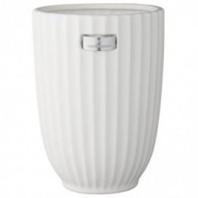 Rosalie vase white 24 cm.