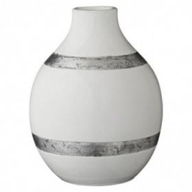 Valona vase white 21,5 cm.