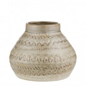 Hettie vase silver peony 14...