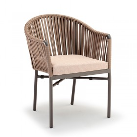 Braided armchair