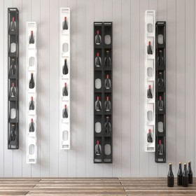 Slot vertical bottle rack