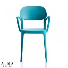Amy with armrest