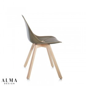 X-chair wood