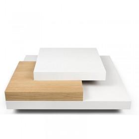 Tavolino quadrato Slate 90x90