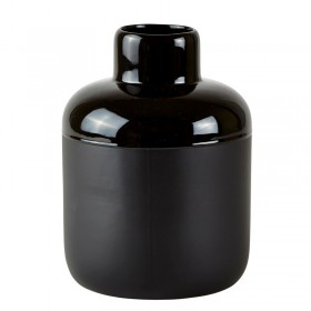 Small black vase